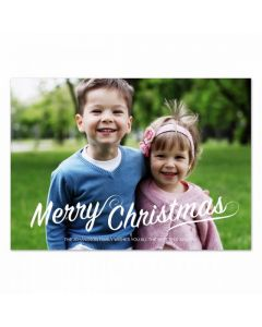 Christmas Flourish Card