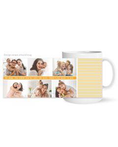 Mom Collage Mug