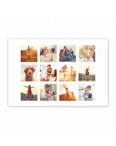 Grid Collage Print