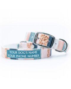 Blushstrokes Dog Collar