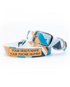 Color Block Cool Dog Collar