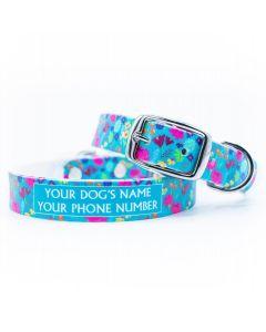 Wildflower Dog Collar