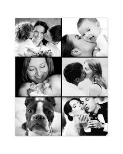 Six Photo Collage Print