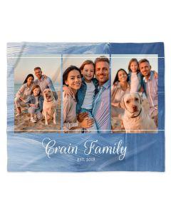 Brushstrokes Photo Blanket