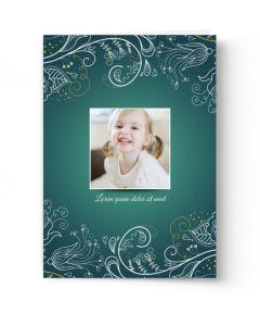 Flowers & Paisley Card