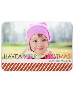 Simply Christmas 3.5X5 Magnet