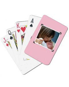 Scrapbook Custom Playing Cards