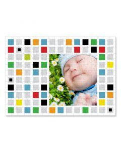 Colored Blocks 252 Piece Puzzle