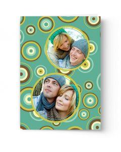Retro Circles Card