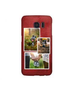 Red Collage Samsung Galaxy Case