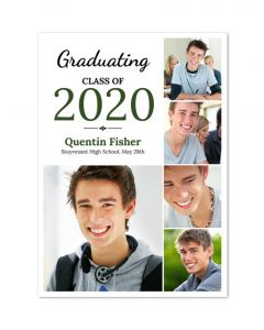Script Graduation Card