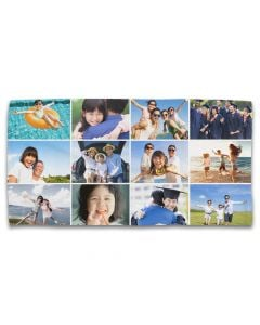 12 Grid Photo Towel