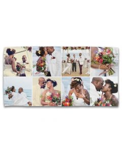 8 Grid Photo Towel