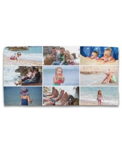 9 Grid Photo Towel