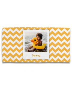 Chevron Photo Towel