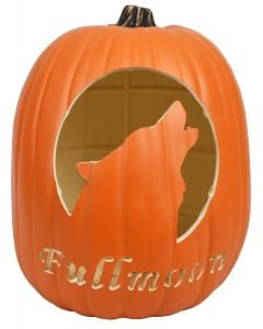 Wolf Custom Pumpkin