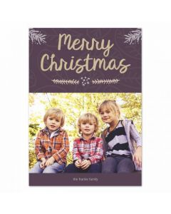 Christmas Boughs Card