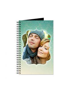 Aqua Damask Journal