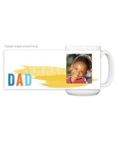 Paint Stroke Dad Mug