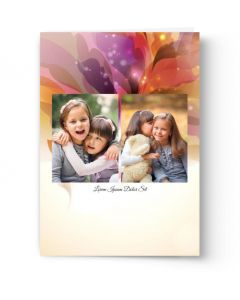 Floral Burst Card