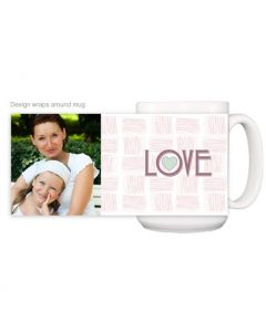 Checkered Love Mug