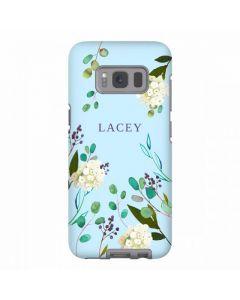 Berry Blue Samsung Galaxy Case